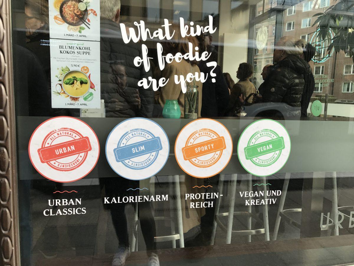 Urban Foodie: Food-Kategorien