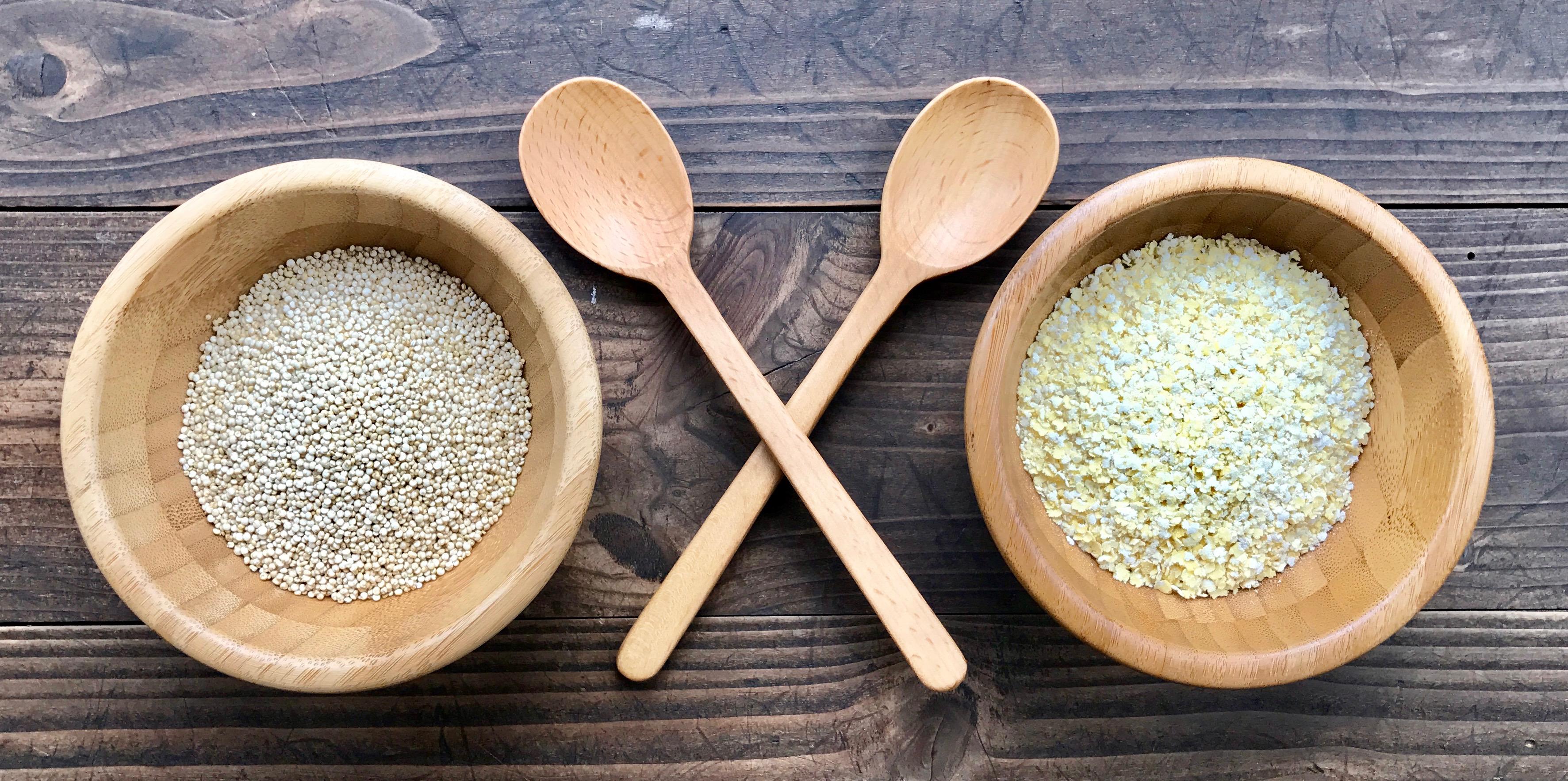 Food Battle: Quinoa gegen Hirse