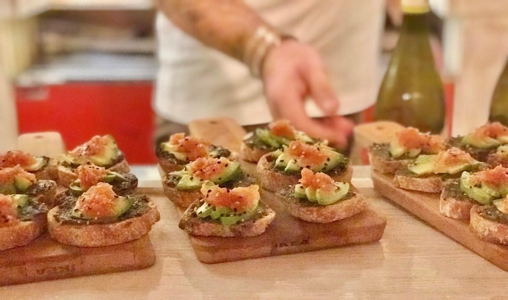 Restaurant Claro Palma: Bruschetta