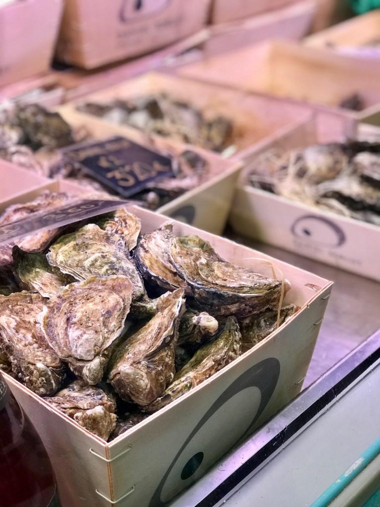 Mercat de l'Olivar Palma: Austern