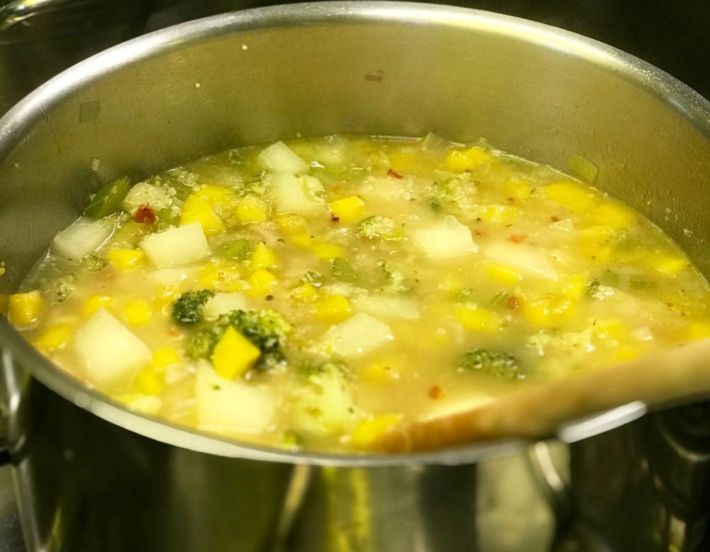 Clean Eating Kochkurs: Gemüsesuppe