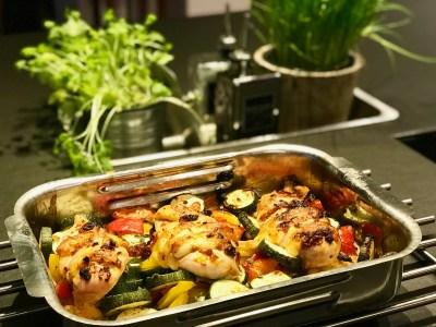 Rezept-Test: No-Carb-Hähnchenbrust mit Mozzarella & Gemüse