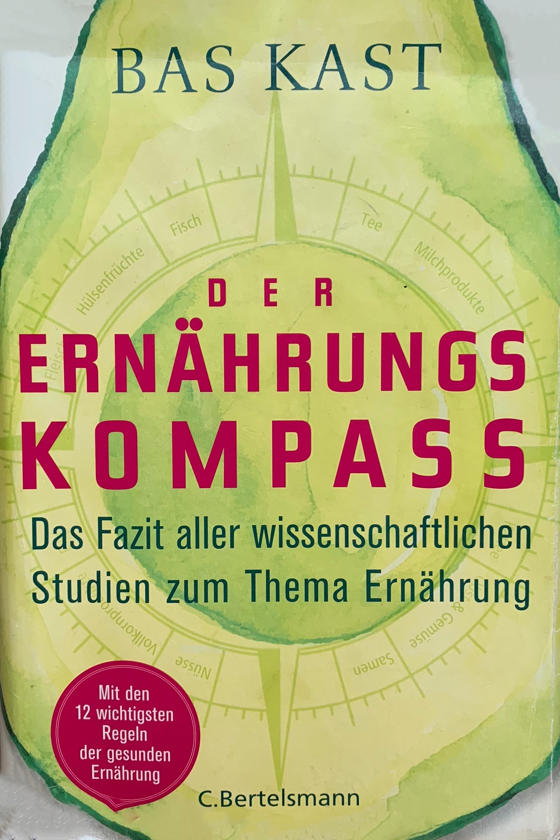 Cover Ernährungskompass von Bas Kast