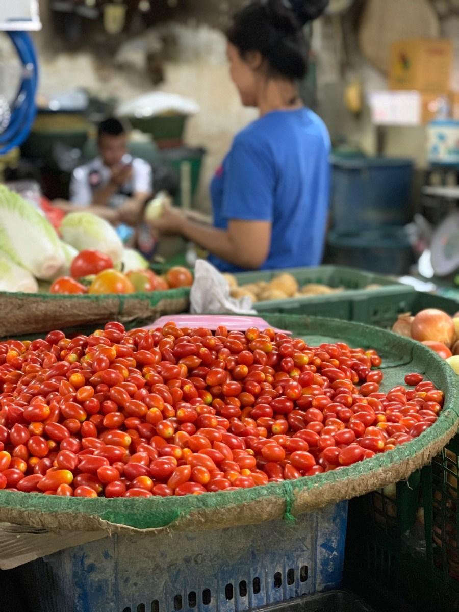 Weltreise: Bangkok Blumenmarkt Gemüse 2
