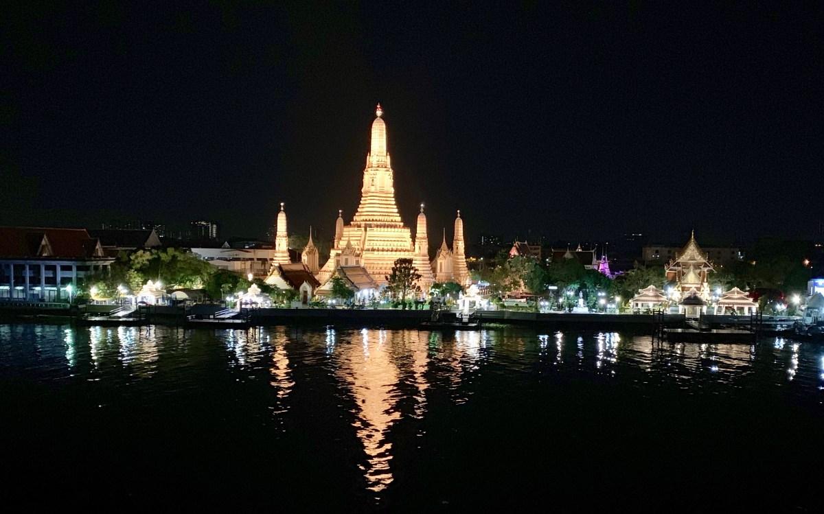 Weltreise: Bangkok Hotel Sala Arun Ausblick 1