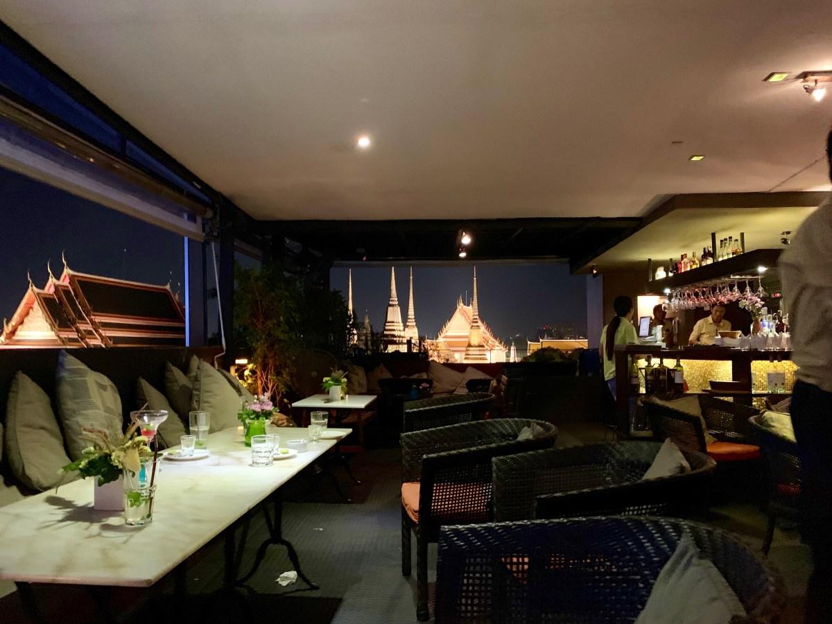 Weltreise: Bangkok Hotel Sala Arun Ausblick 2