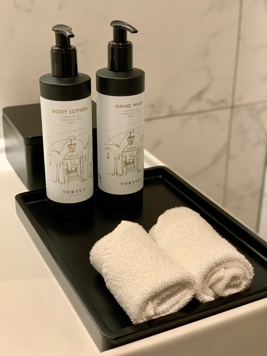 Tortue: Hotelzimmer-Kosmetik