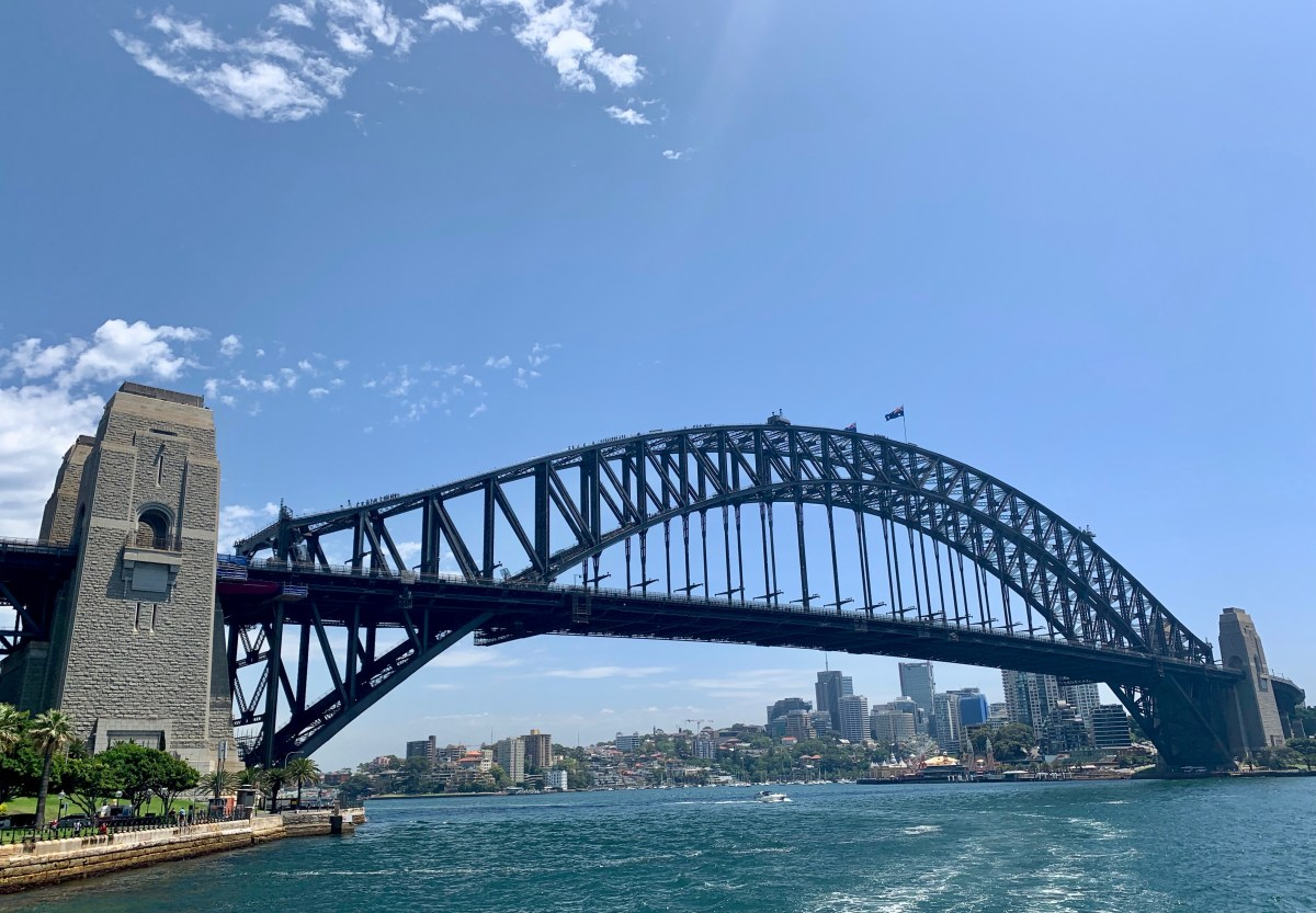 Weltreise: Sydney Harbour Bridge
