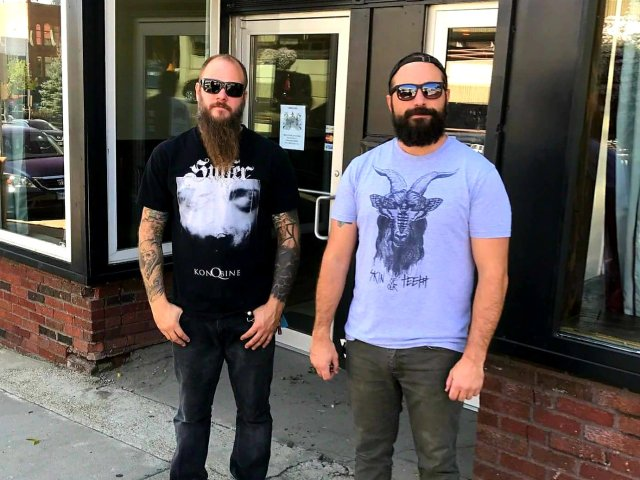 Chad Petit and Nick Murphy of Hydra Brewing Co.