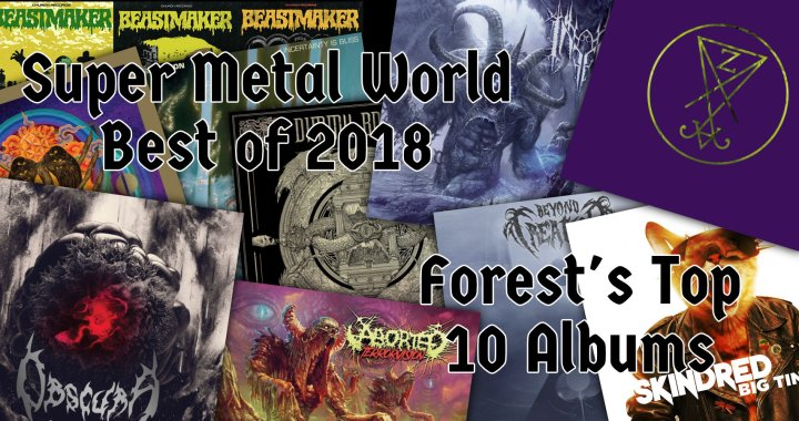 Forest's Top 10 Albums of 2018