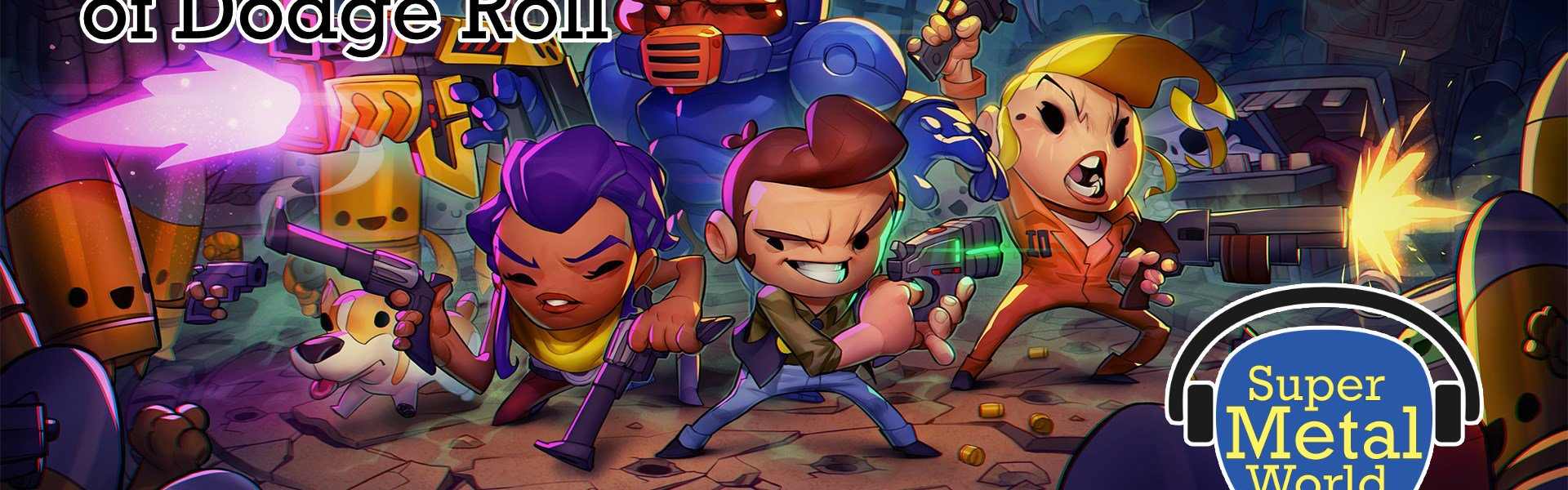 Enter the Gungeon characters