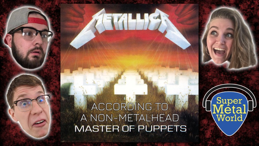 Master of Puppets with hosts of episode