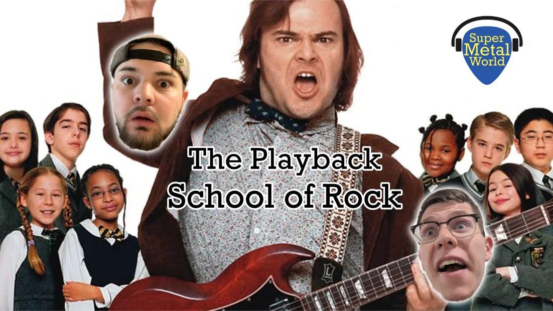 Jack Black from School of Rock
