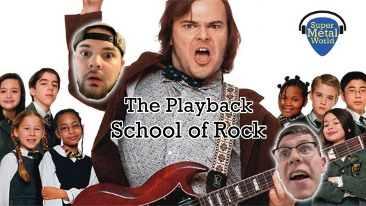 Jack Black from School of Rock