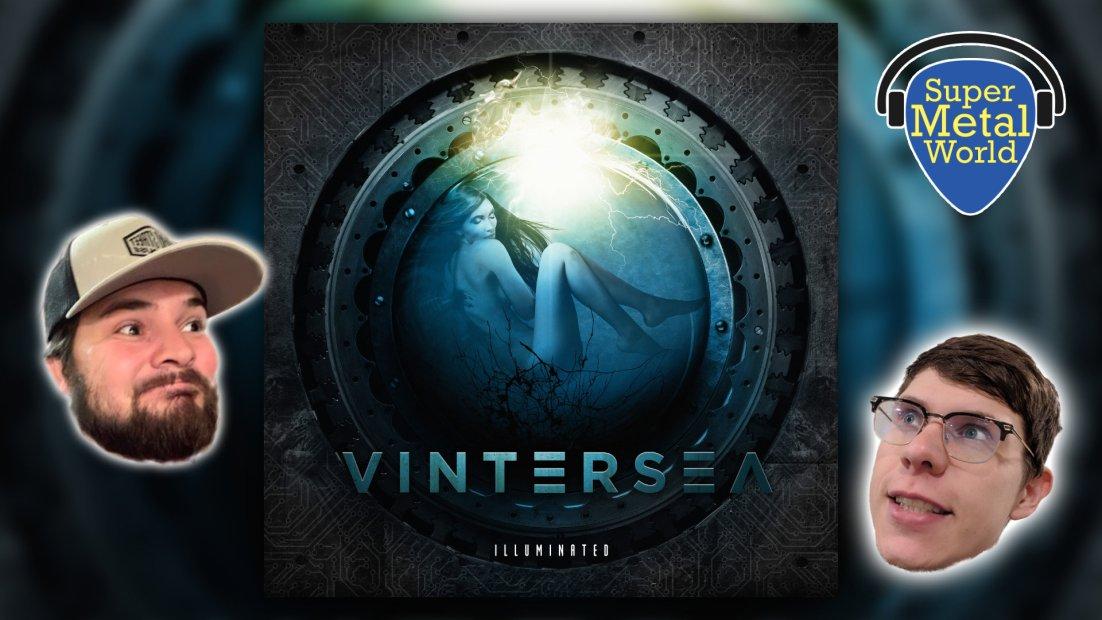 Vintersea's Illuminated album art with co-hosts
