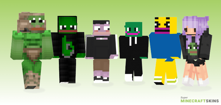 Pepe Minecraft Skins Download For Free At Superminecraftskins