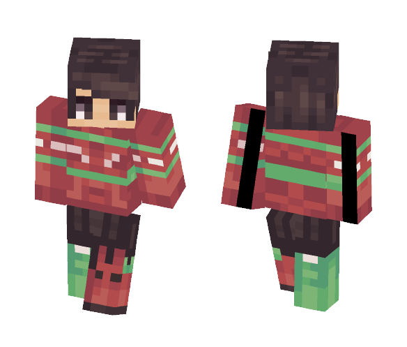 Download Christmas Aesthetic Boy Minecraft Skin For Free