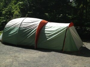 our monster tent