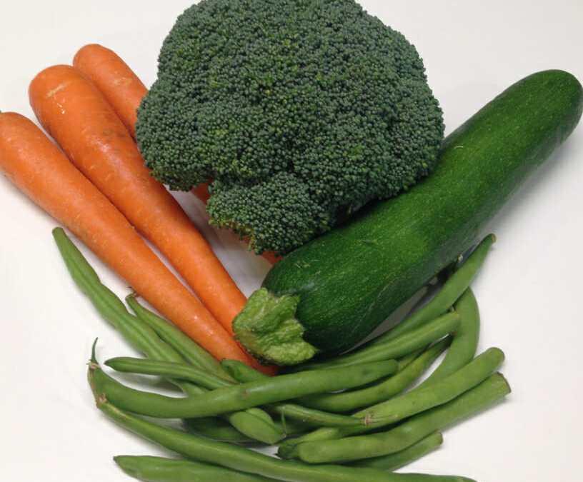 Technique: Microwave-Steamed Vegetables