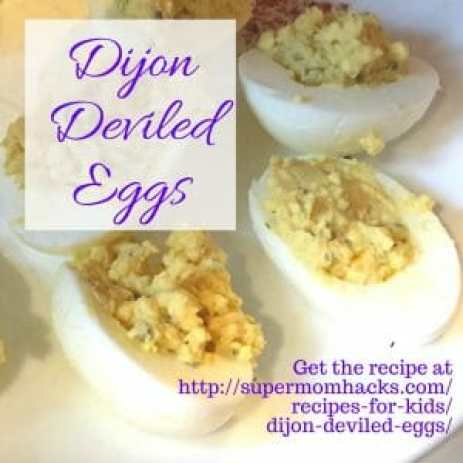 This yummy take on deviled eggs gets a boost from dijon mustard and fresh chives. So easy even kids can make them, yet elegant enough for holiday dinners.