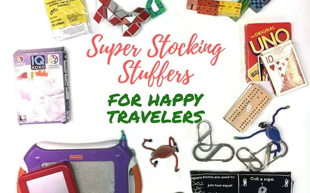 Super Stocking Stuffers for Happy Travelers