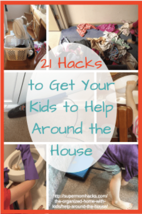 Does your child help around the house? No matter what their age, there are things you can do to raise willing and capable helpers, as these 21 hacks demonstrate.