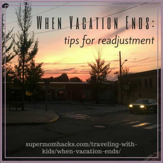 """Readjusting to """"normal life"""" after a trip is hard. If you find it hard to jump back in to your normal routine when vacation ends, give these hacks a try."""