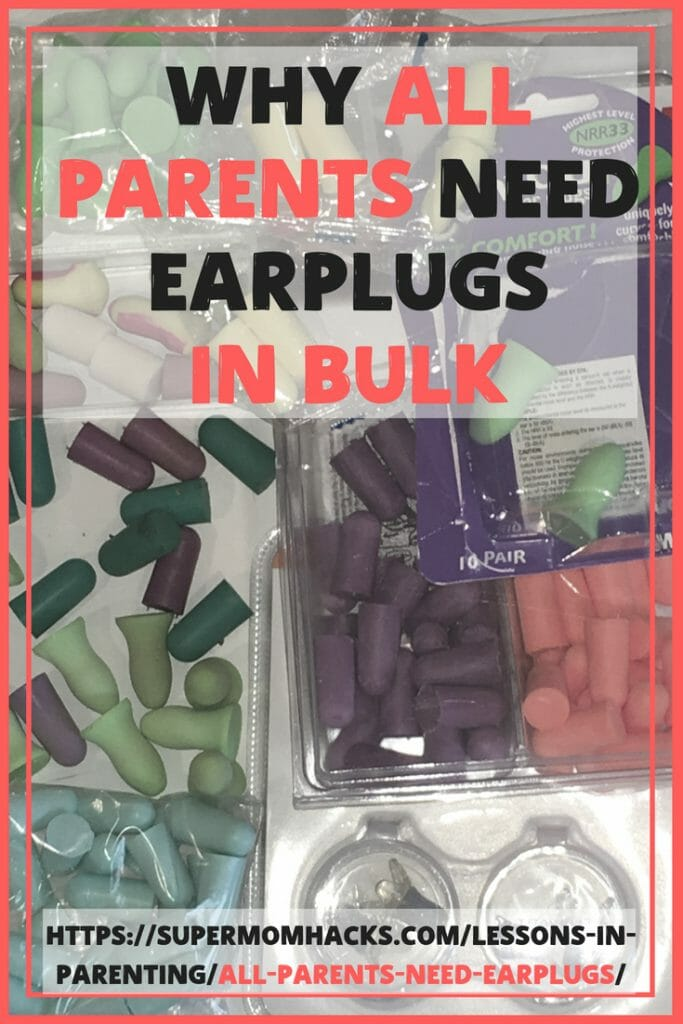 The irony of parenthood is that our littles often can't hear us, when we can hear them all too well. Hence why all parents need earplugs. In bulk.