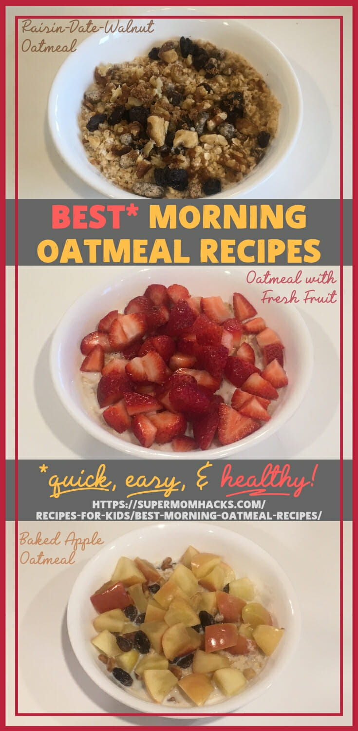 If you think oatmeal is too fussy for a quick weekday breakfast, think again. Read on for some of our best morning oatmeal recipes and fave oatmeal hacks.