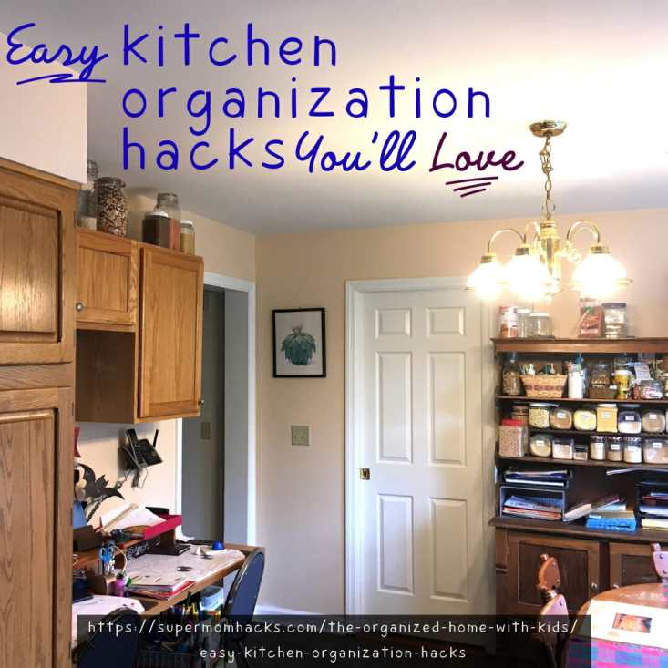 Does your kitchen work for you as well as it could? These budget-friendly kitchen organization hacks have revolutionized our kitchen; give them a try!