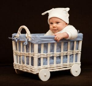 What - you DON'T have oodles of extra money lying around for that little bundle of joy? These tips and hacks will show you how to save money on baby stuff!