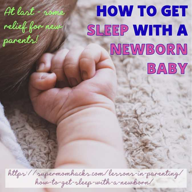Having a baby is exhausting. How can you sleep when they want to eat every few hours? These tips will help you manage to get sleep with a newborn at home.