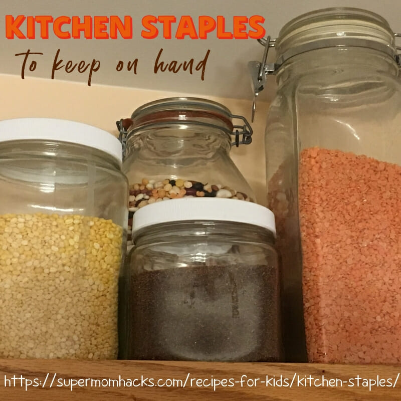 What kitchen staples do you keep on hand? A kitchen stocked with key basics can help you prep quick, healthy meals on busy weeknights, while saving money.