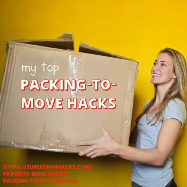Packing to move is never fun or easy. But these packing-to-move hacks should help make the process as painless as possible. (Really!)