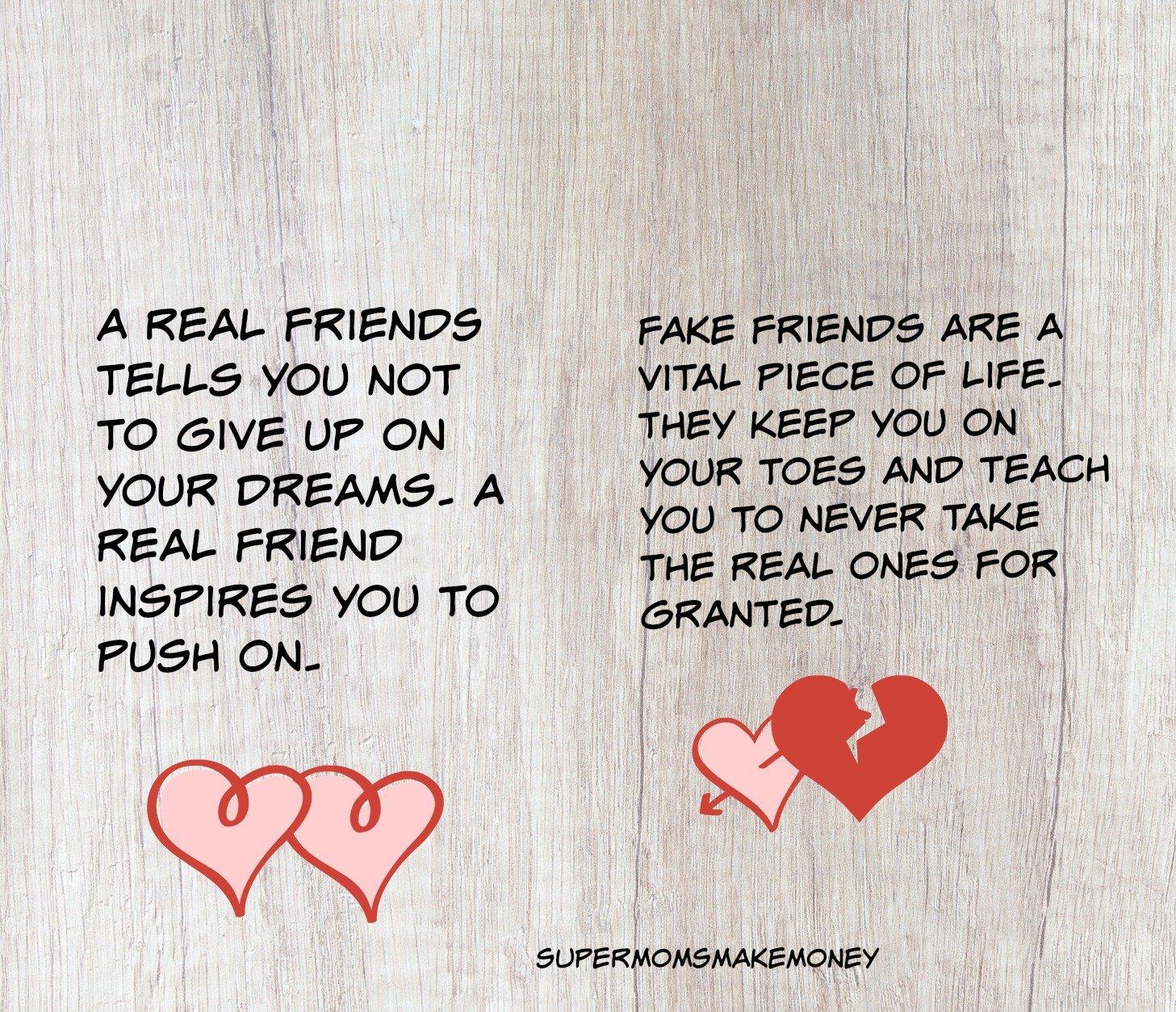 fake best friends