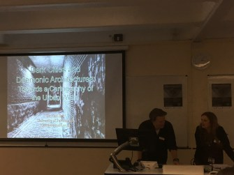 Dr Karl Bell's keynote: Towards a Cartography of the Urban Weird