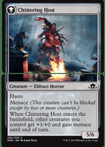 Chittering host