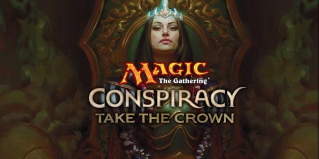 Take the Crown header