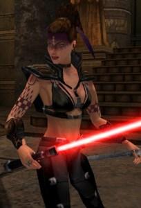 Tavion in Jedi Academy