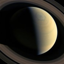 What is it with Saturn and hexagons...?