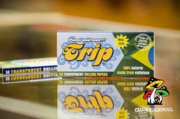 Trip Mini Size Transparent Rolling Papers