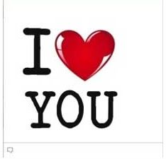 facebook chat emoticon I Love You