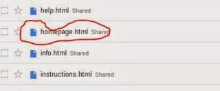 files in google drive