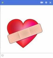 heart facebook emoticon