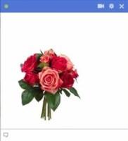 flowers facebook emoticon
