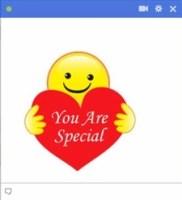 you are special facebook emoticon