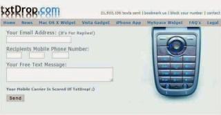 online text gateway txtdrop