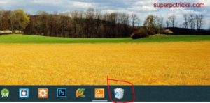 pin recycle bin to taskbar