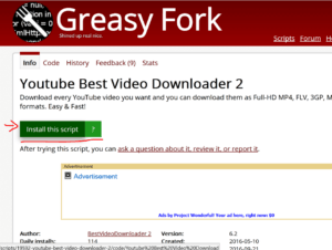 download youtube videos in edge