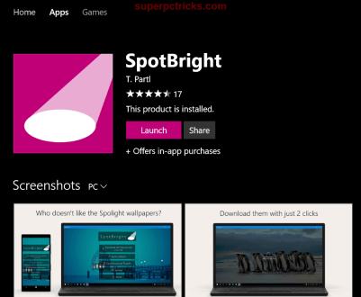 Windows Spotlight images